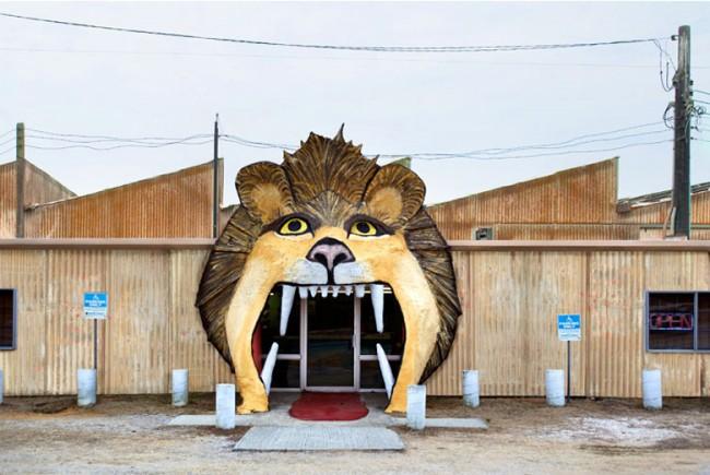 Lion Entrance